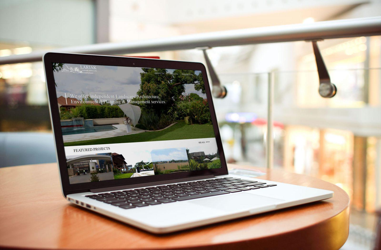 Lariak Landscapes home page