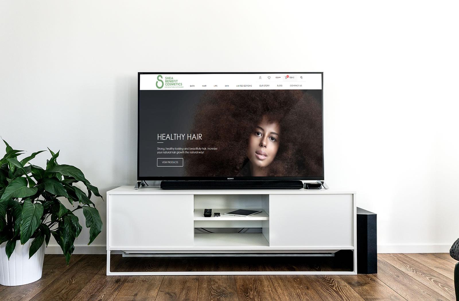 Shea Benefit Cosmetics on TV